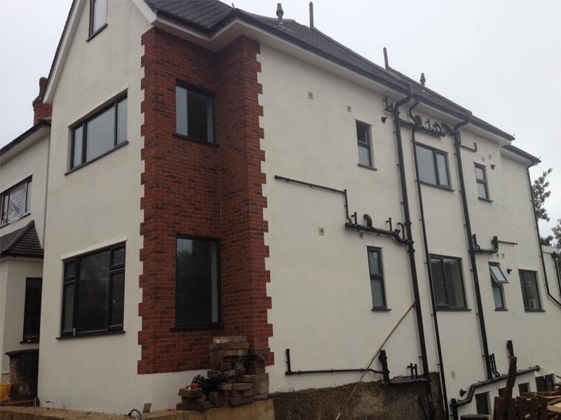 14x Studio Flat Re-Plumb, Holden Road, Finchley