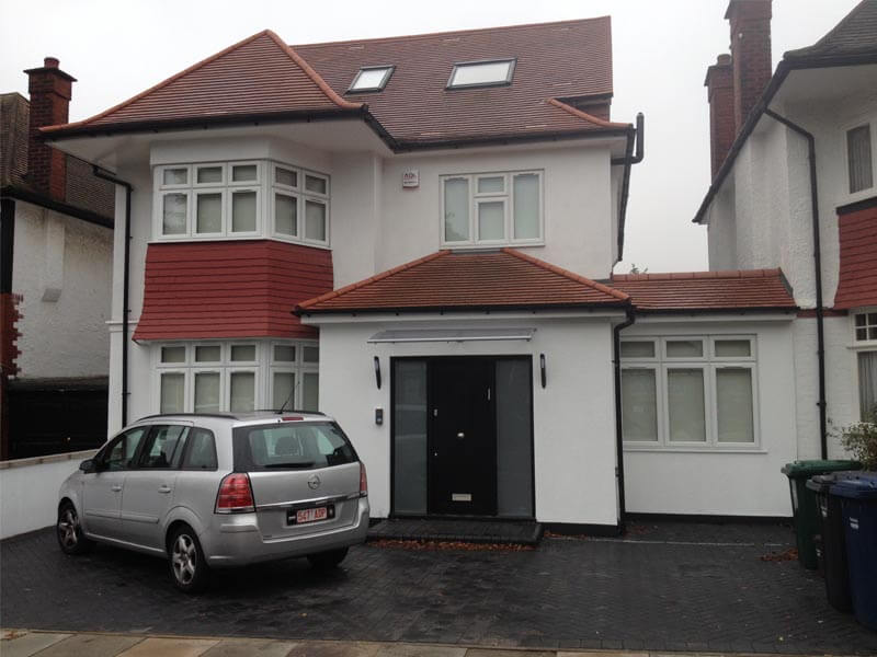6x Bed House, Shire Hall Park, Golders Green.